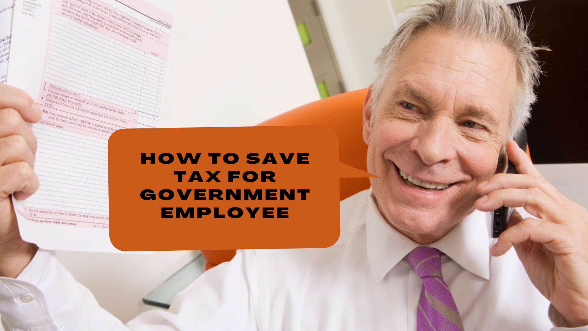 How to Save Tax for Government Employee